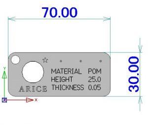 薄壁円筒サンプル3D-a